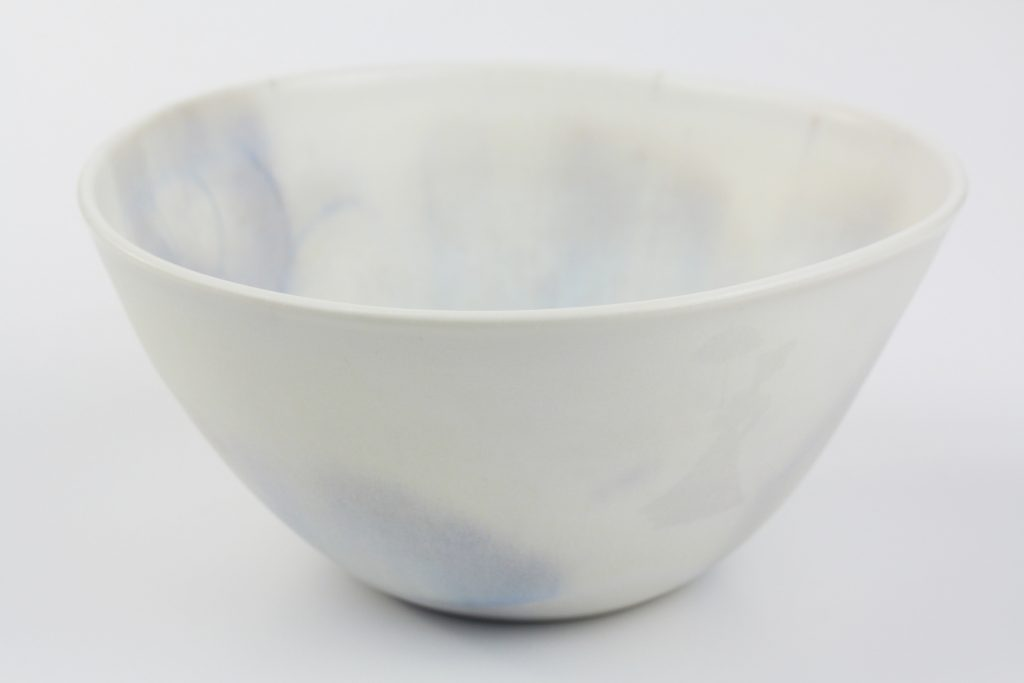 "Bol en porcelaine de la collection ""Nuages"""